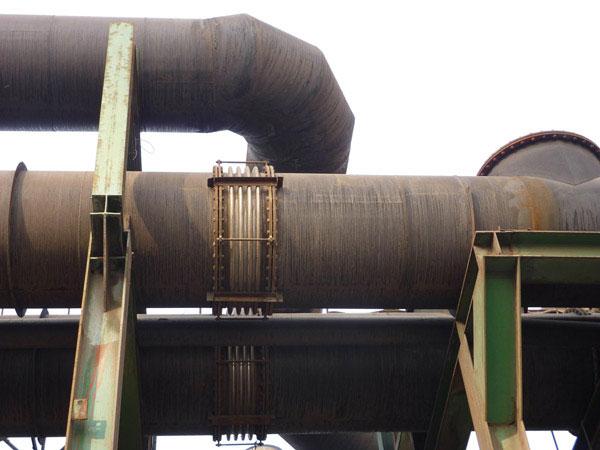 首钢水钢高炉管道波纹补偿器